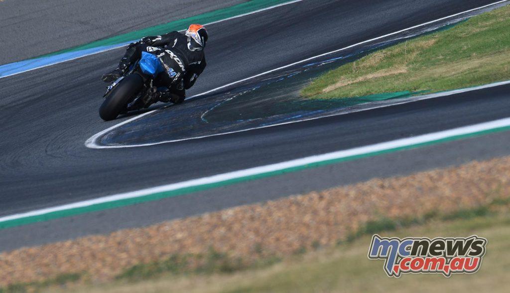 ARRC Test Day Superbike Glenn Allerton Rear
