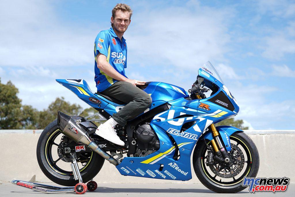 Alex Phillis Team Suzuki Ecstar