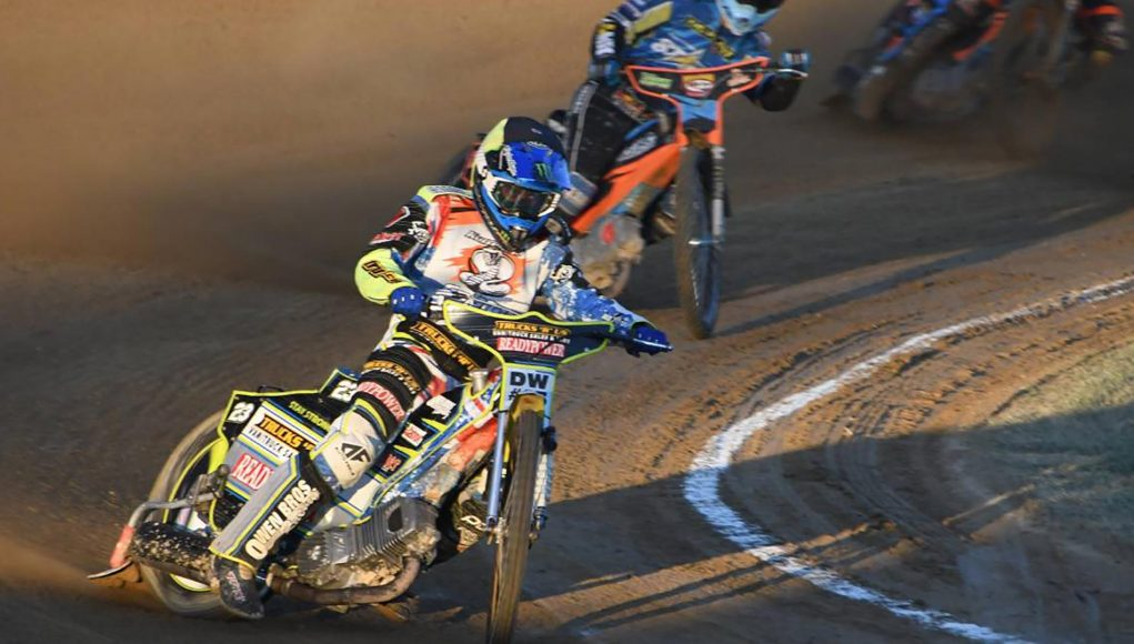 Chris Holder went through the night undefeated to claim the Jason Crump Classic Cup at Kurri Kurri Speedway Club on Boxing Day. Picture by Michael Hartshorn