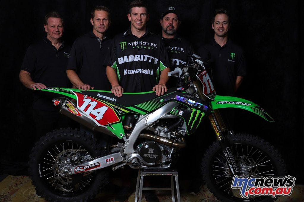 Kawasaki Team Green Babbitts Online Motorsports