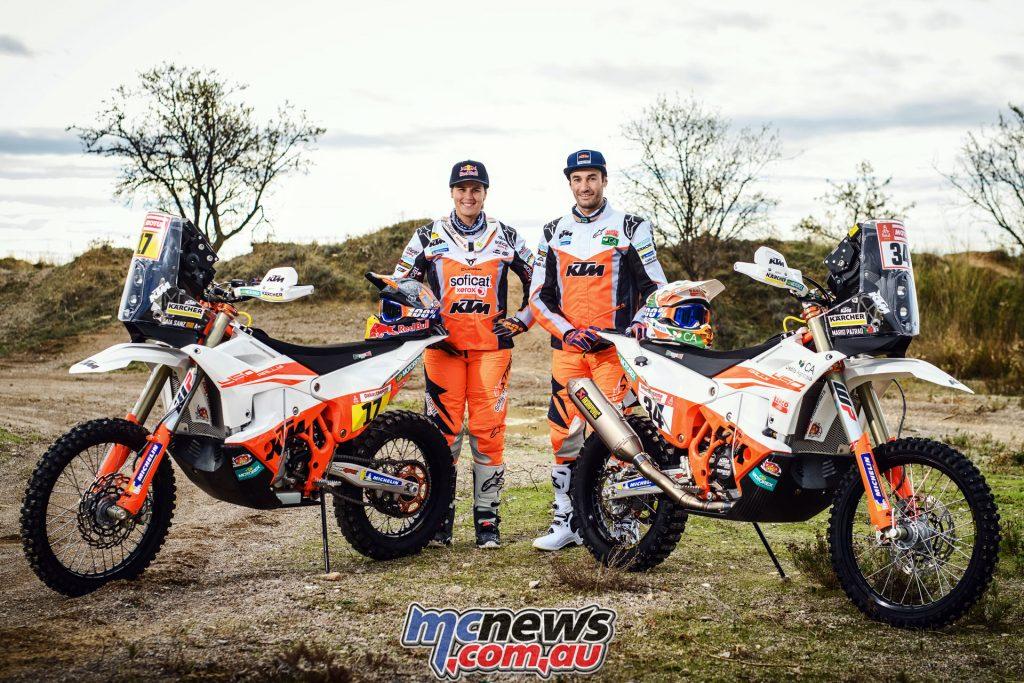 Laia Sanz Mario Patrao KTM RALLY Rally Team
