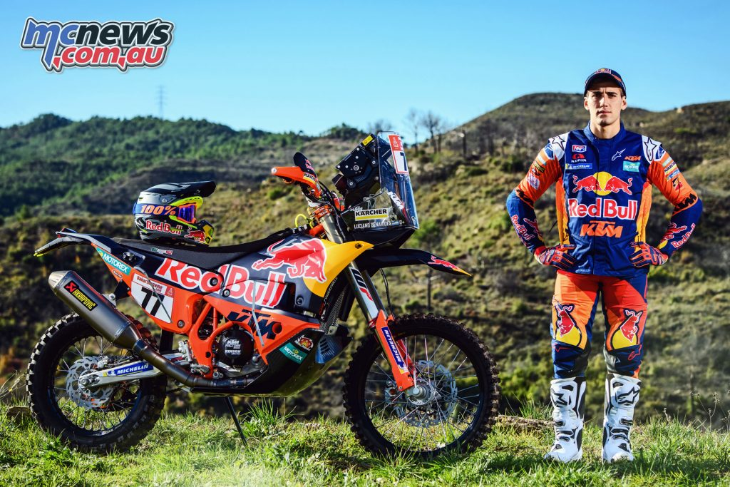 Luciano Benavides KTM RALLY Rally Team Shoot