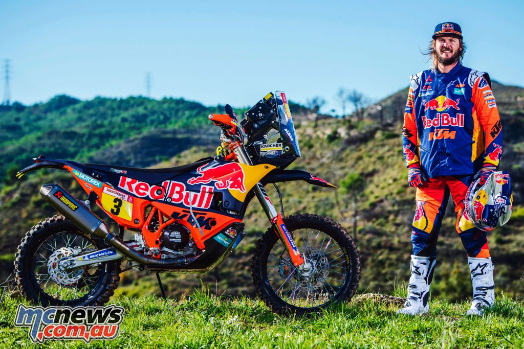 Toby Price KTM RALLY Rally Team Shoot