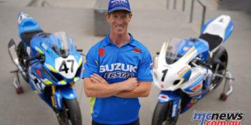 Wayne Maxwell Team Suzuki Ecstar