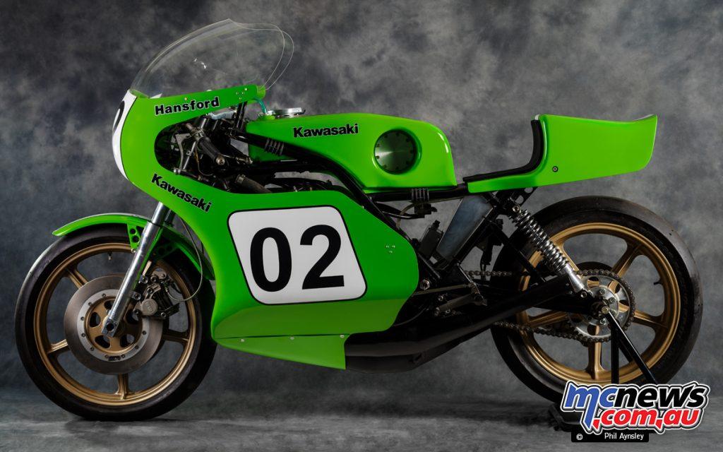 Kawasaki KR Gregg Hansford PA KR