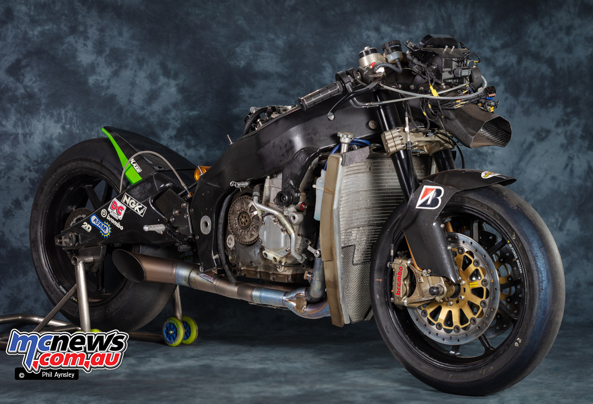 2004 Kawasaki Zx Rr Motogp Machine Mcnewscomau