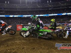 AMA SX Rnd Oakland Main Start Webb Savatgy JK Report