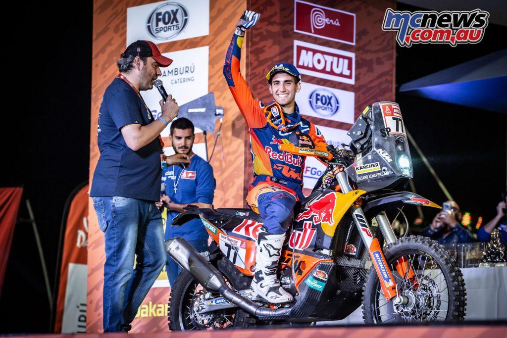 Dakar Rally Luciano Benavides ImgMarcinKin