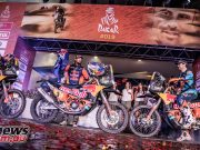 Dakar Rally RedBull KTM Factory Racing podium ImgMarcinKin