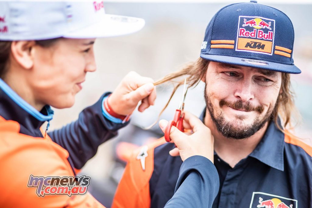 Dakar Rest Toby Price Sanz