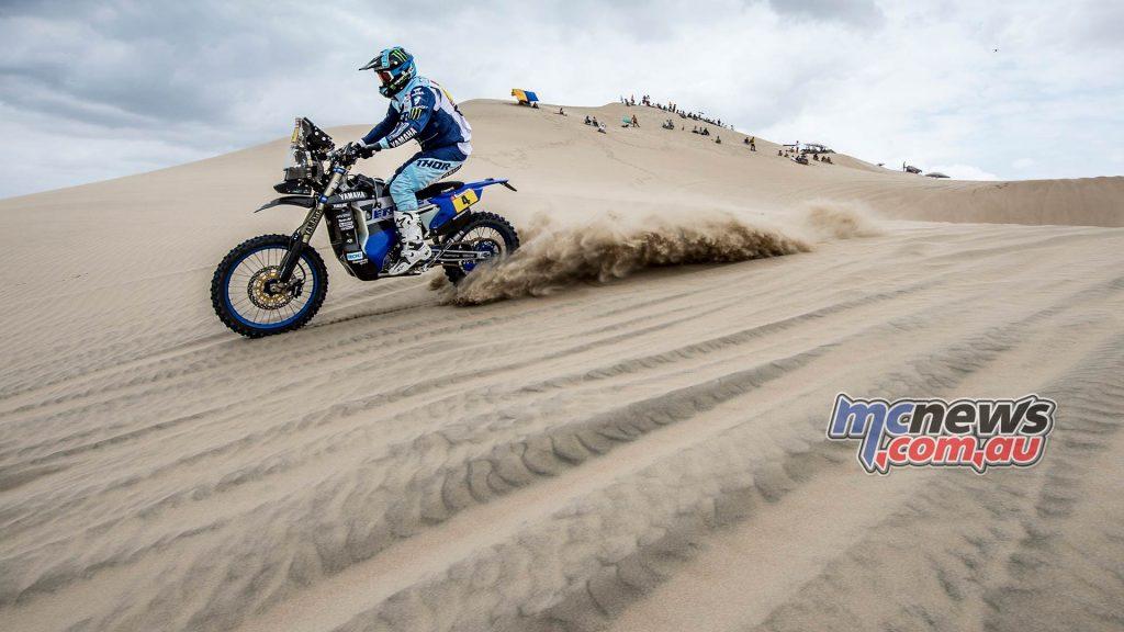 Dakar Stage Adrien Van Beveren