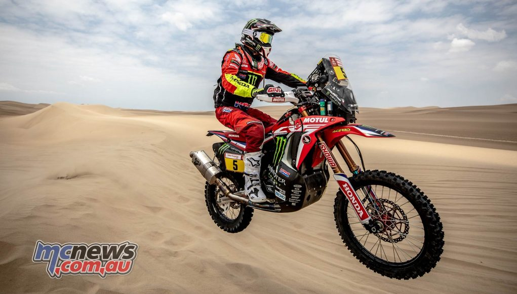 Dakar Stage Joan Barreda