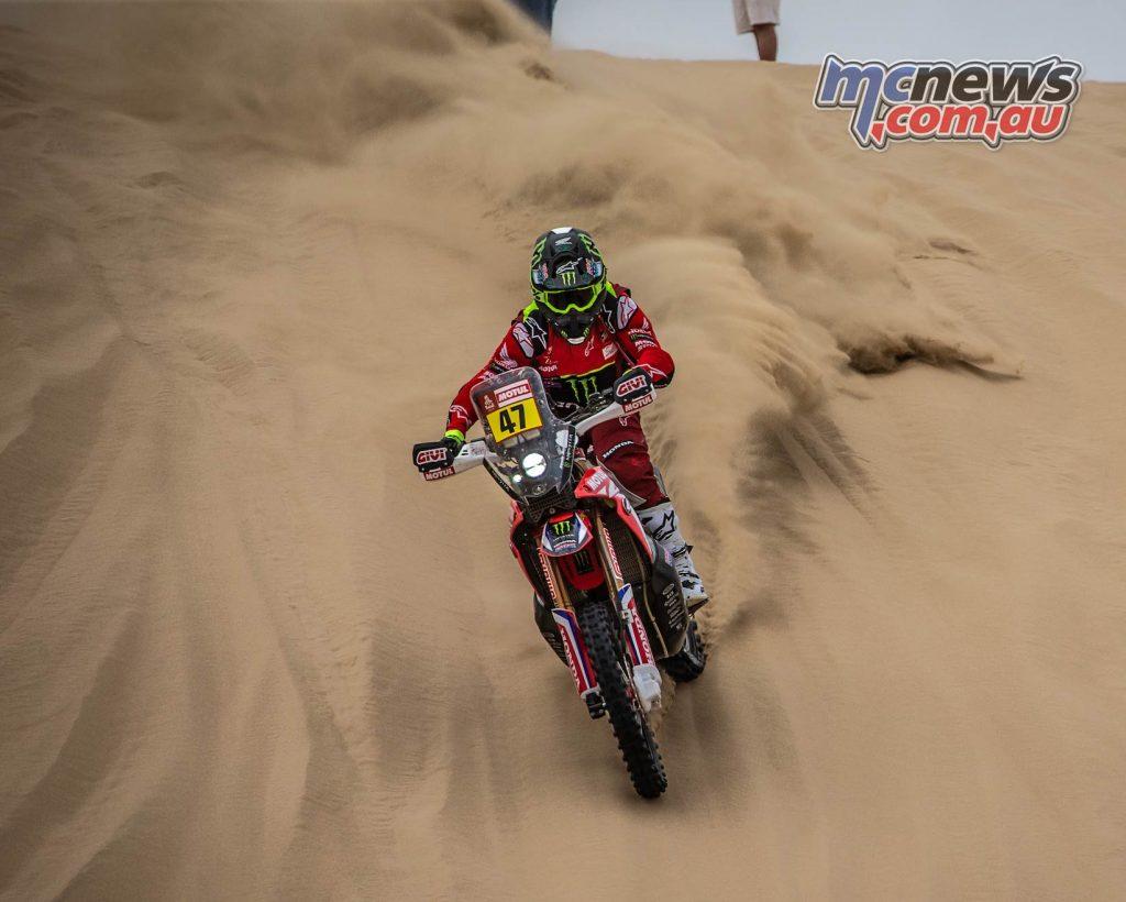 Dakar Stage Kevin Benavides