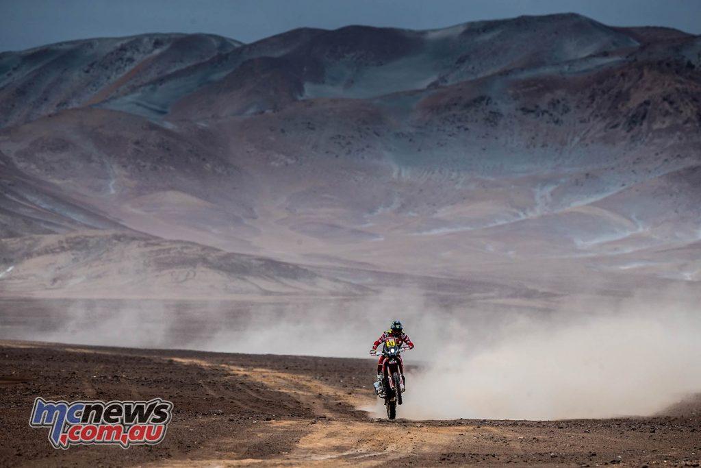 Dakar Stage Benavides