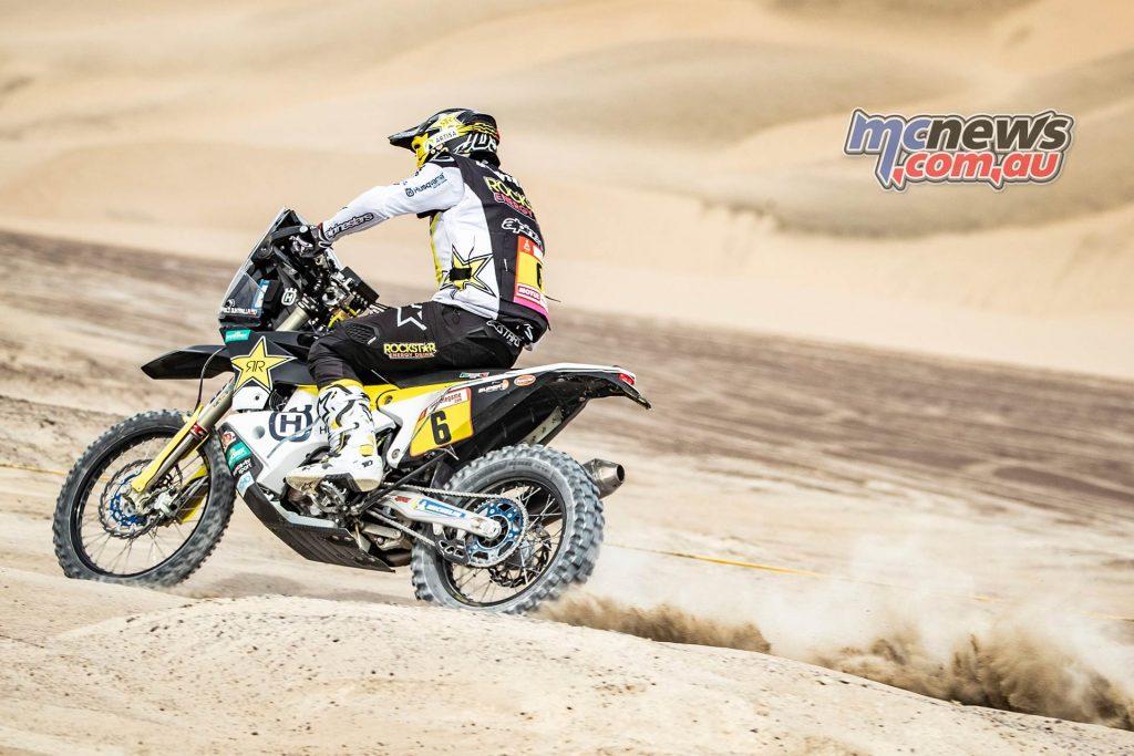 Dakar Stage Quintanilla