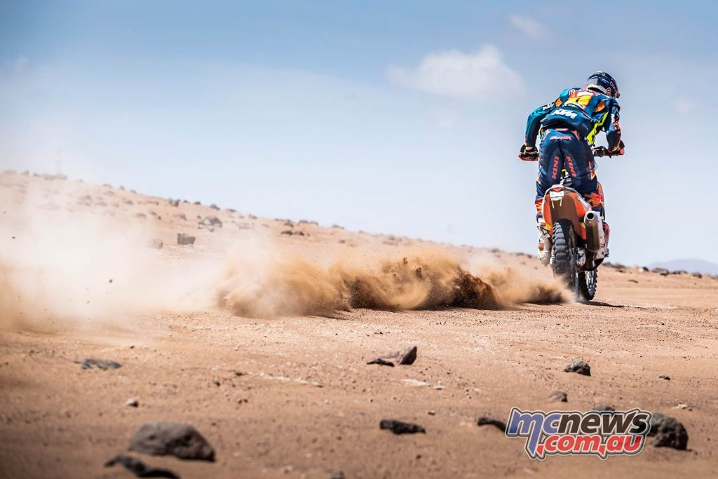 Dakar Stage Mattias Walkner