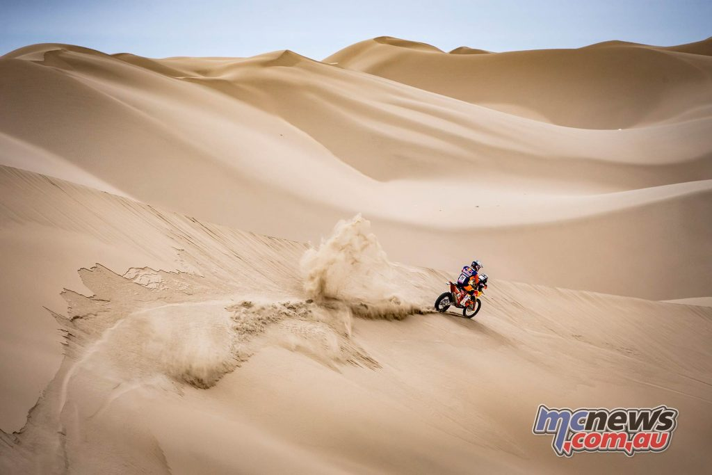 Dakar Stage ImageMarcinKin Luciano Benavides