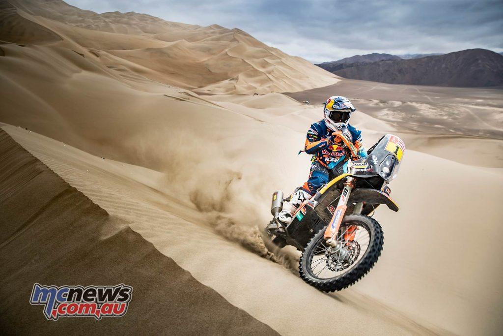 Dakar Stage ImageMarcinKin Matthias Walkner