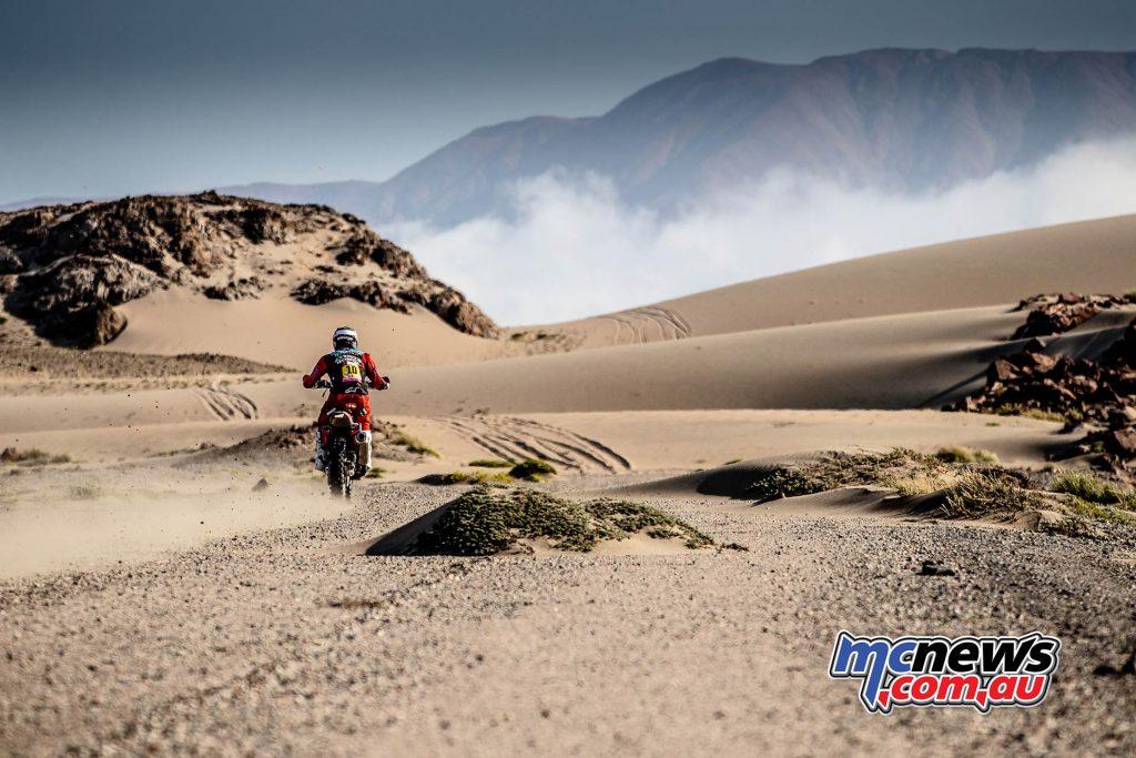 Dakar Stage Jose Ignacio Cornejo