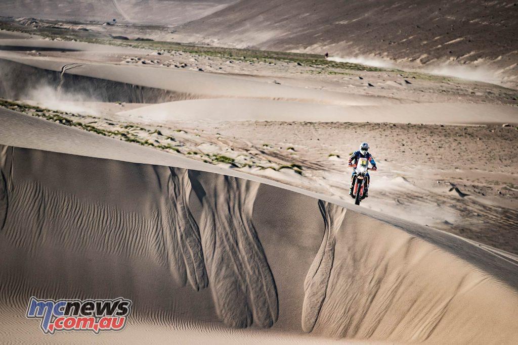 Dakar Stage Mattias Walkner