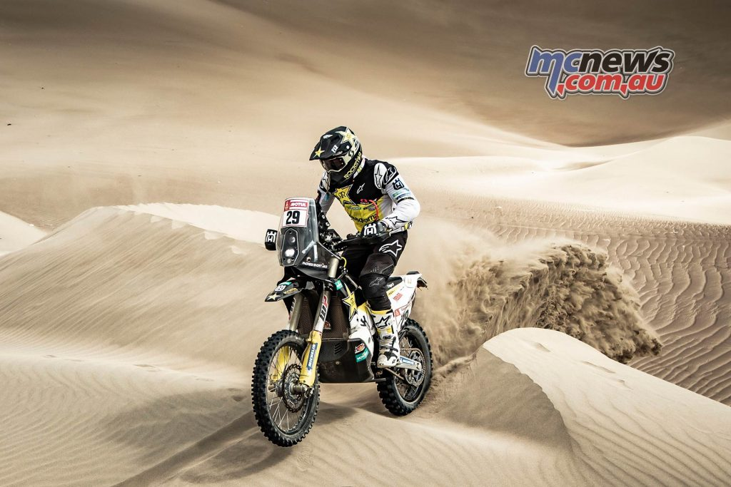 Dakar Stage Andrew Short