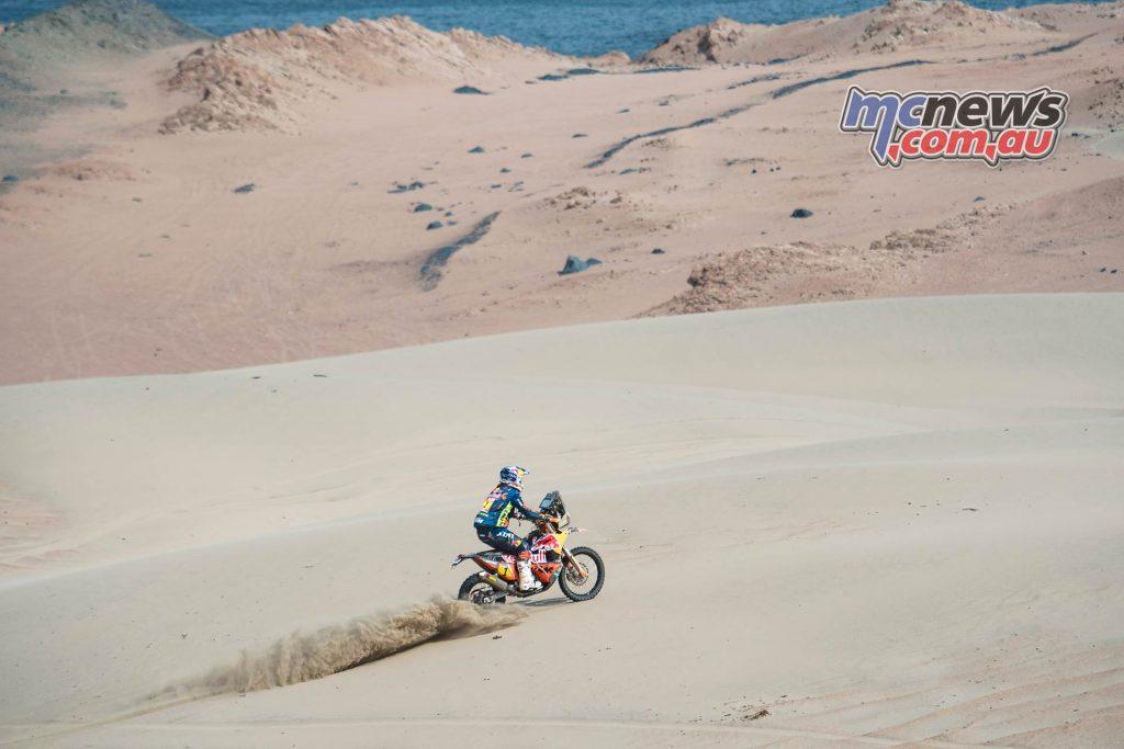 Dakar Stage Matthias Walkner