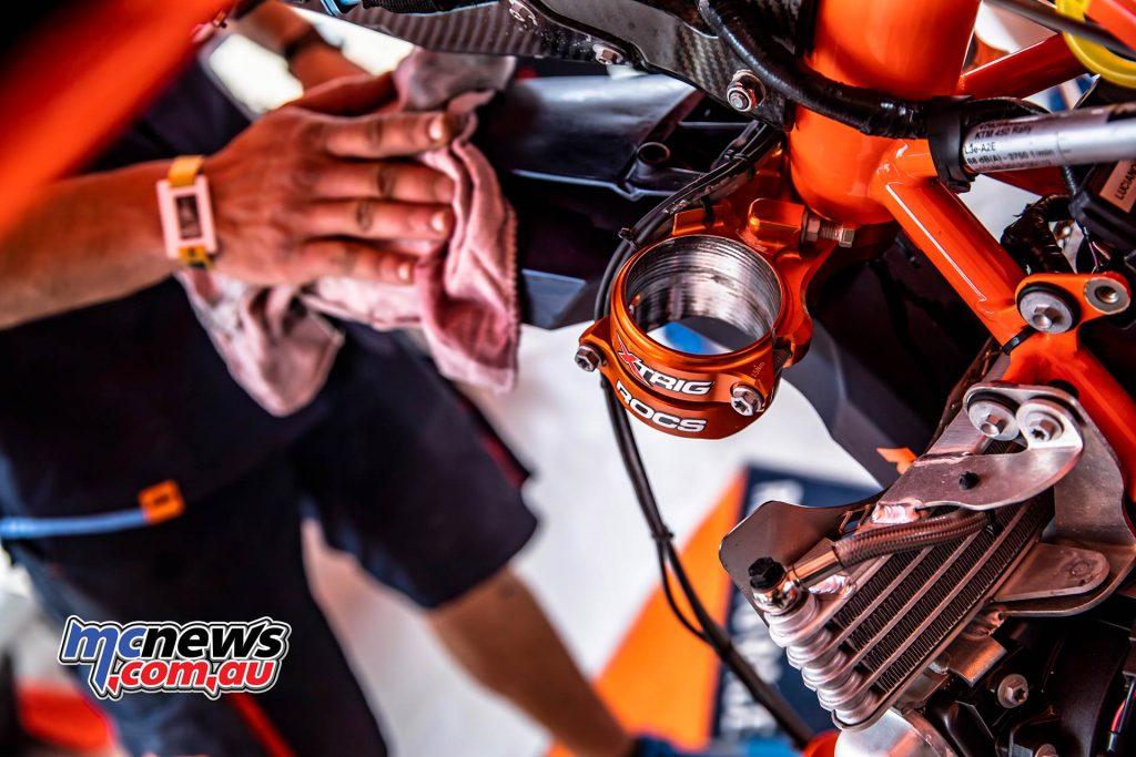 Dakar Stage KTM Prep