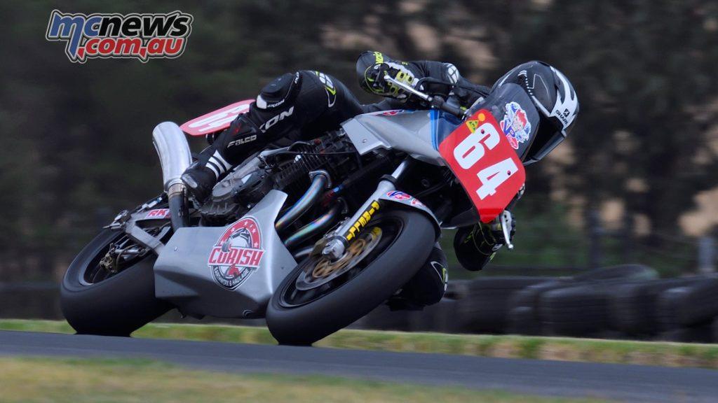 IIC Phillip Island Rob Mott Friday Aaron Morris