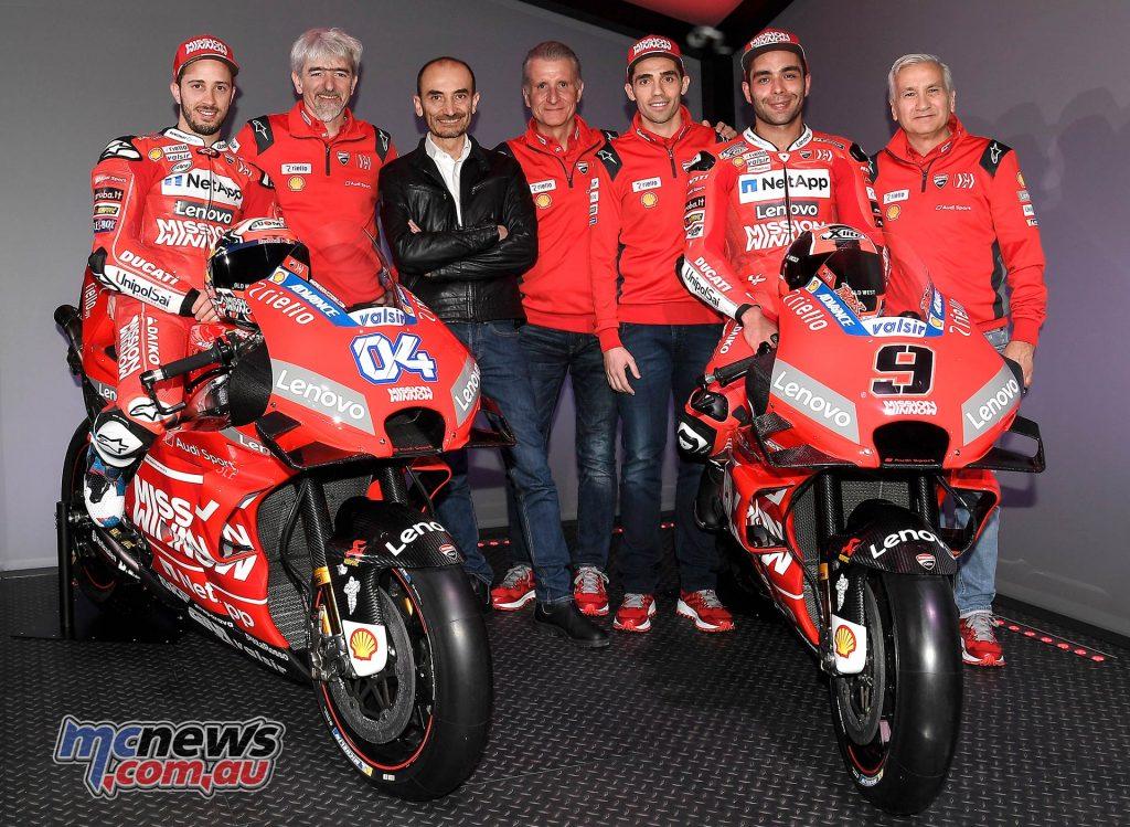 MotoGP Ducati Desmosedici GP Reveal