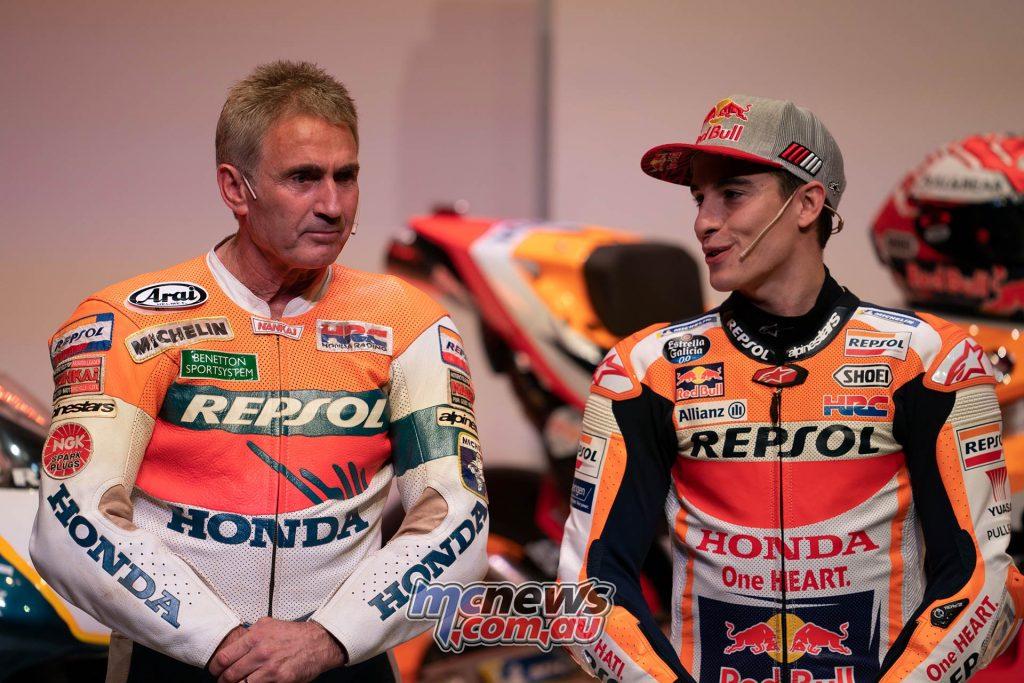 MotoGP Repsol HRC Launch Mick Doohan Marc Marquez