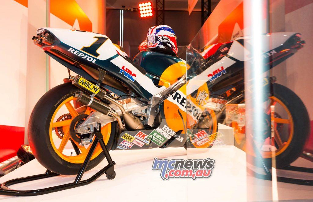 MotoGP Repsol HRC Launch NSR