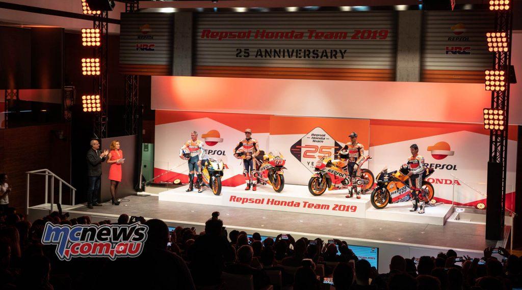 MotoGP Repsol HRC Launch Platform