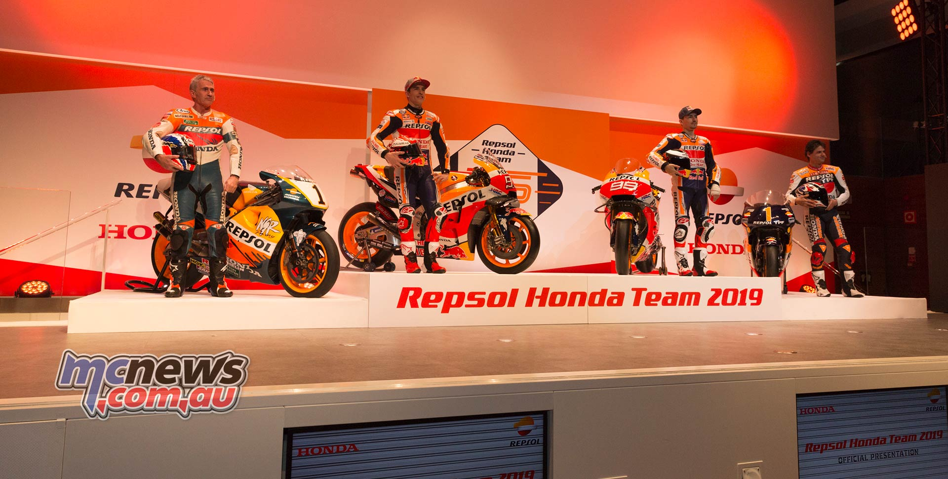 2019 Repsol Honda Hrc Team Launch Mcnewscomau