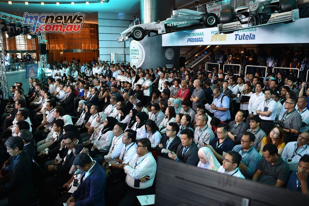 Petronas Launch