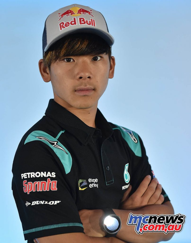 Petronas Launch Moto Ayumu Sasaki