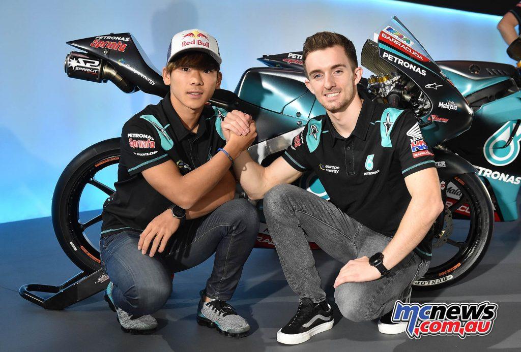 Petronas Launch Moto Sasaki McPhee