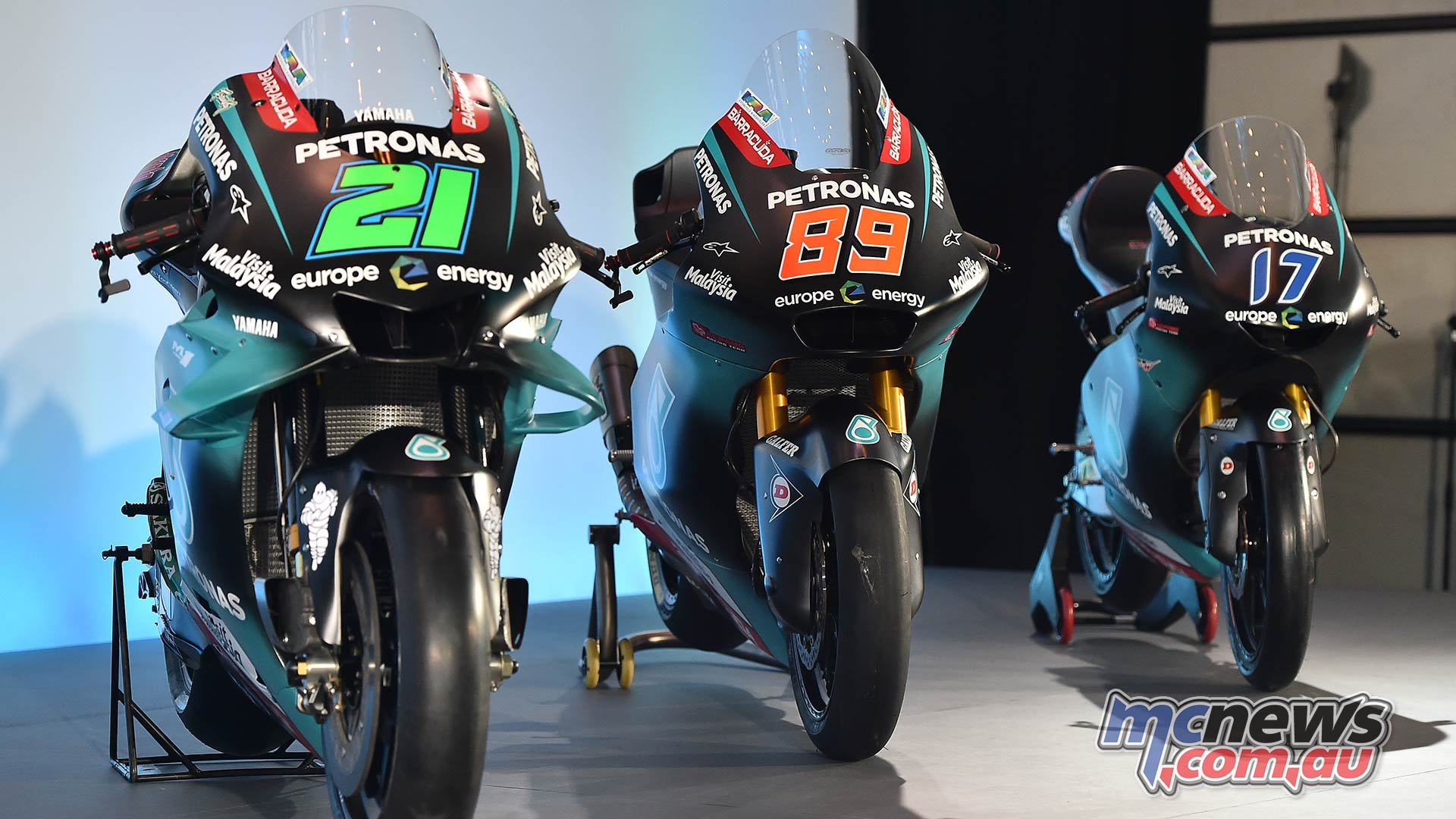Petronas Yamaha Sepang Motogp Racing Team Launched Motorcycle News Sport And Reviews