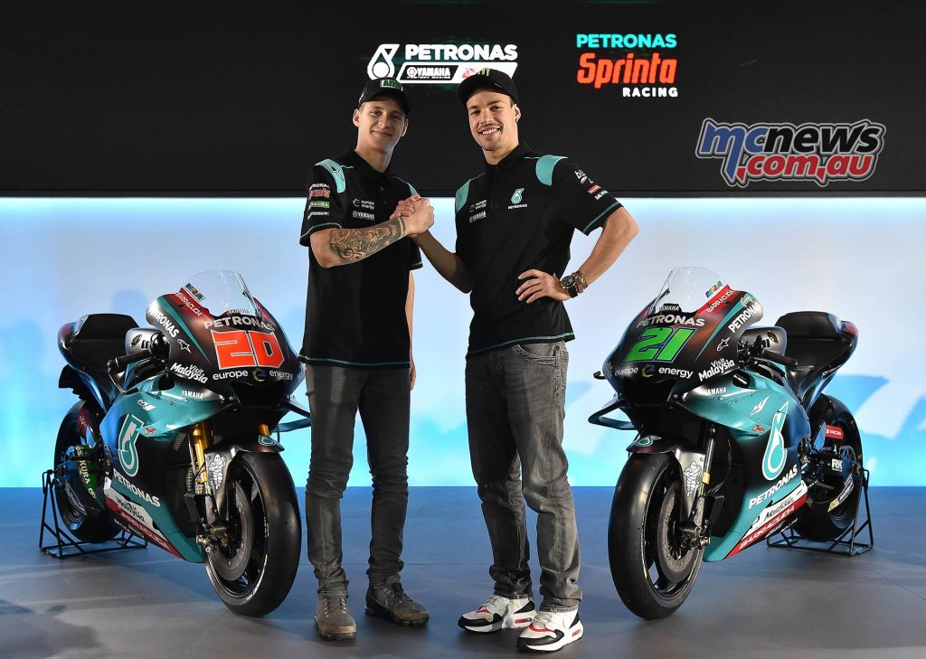 Petronas Launch MotoGP Quartararo Morbidelli
