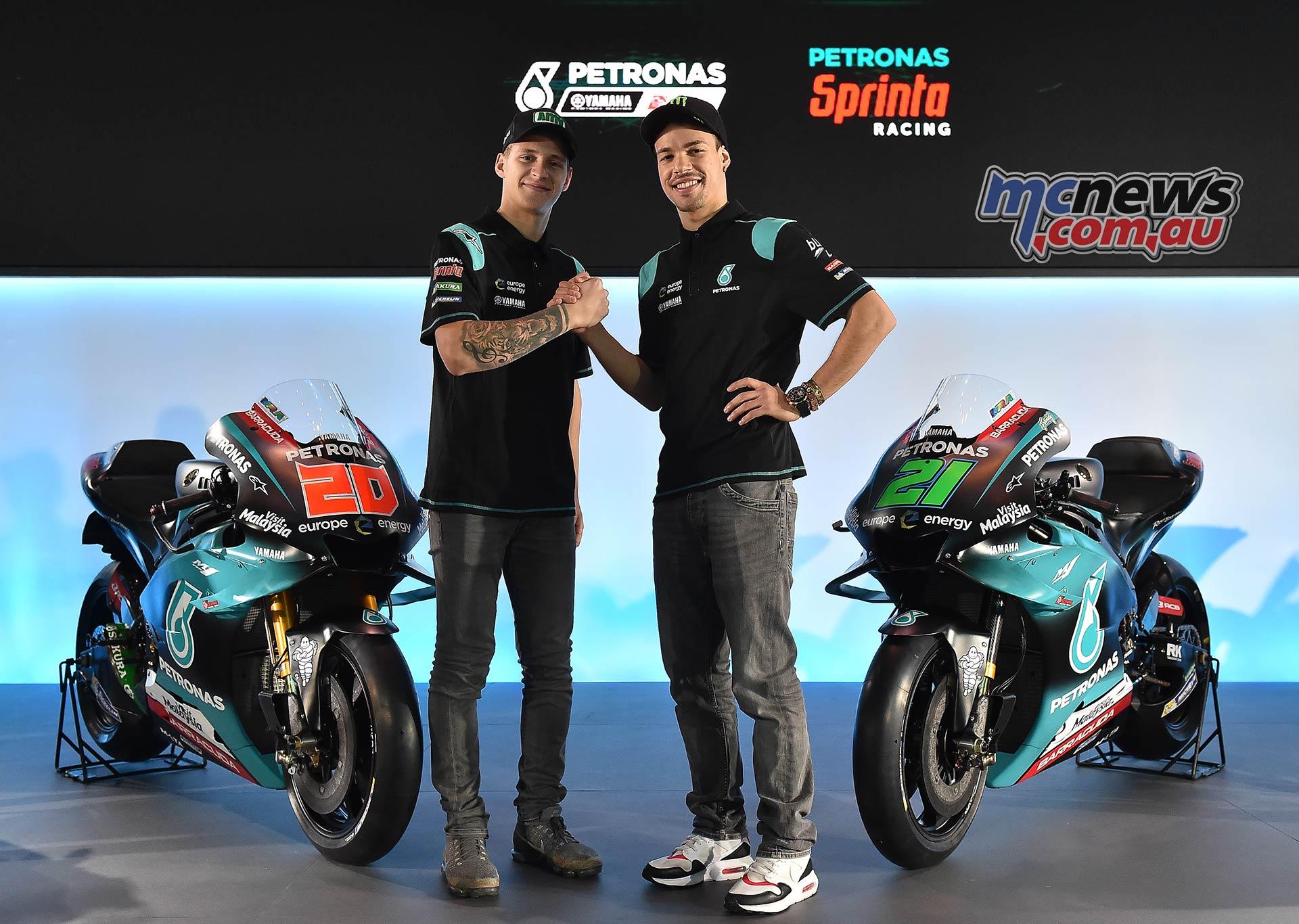 Petronas Launch MotoGP Quartararo Morbidelli