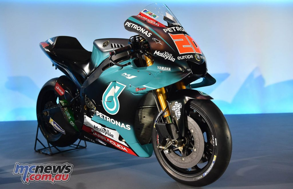 Petronas Launch Yamaha Sepang Racing Team MotoGP Quartararo