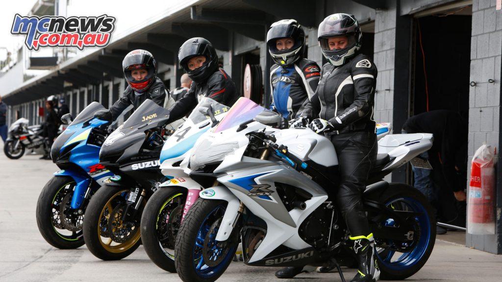 Suzuki Sports Bike Track Day Phillip Island Feb