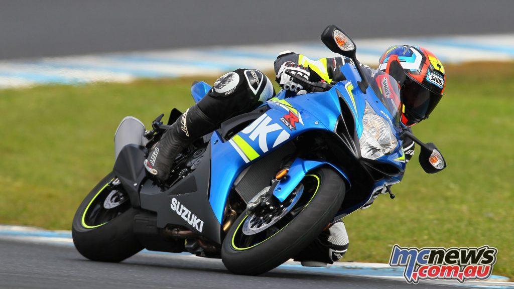 Suzuki Sports Bike Track Day Phillip Island Feb AH
