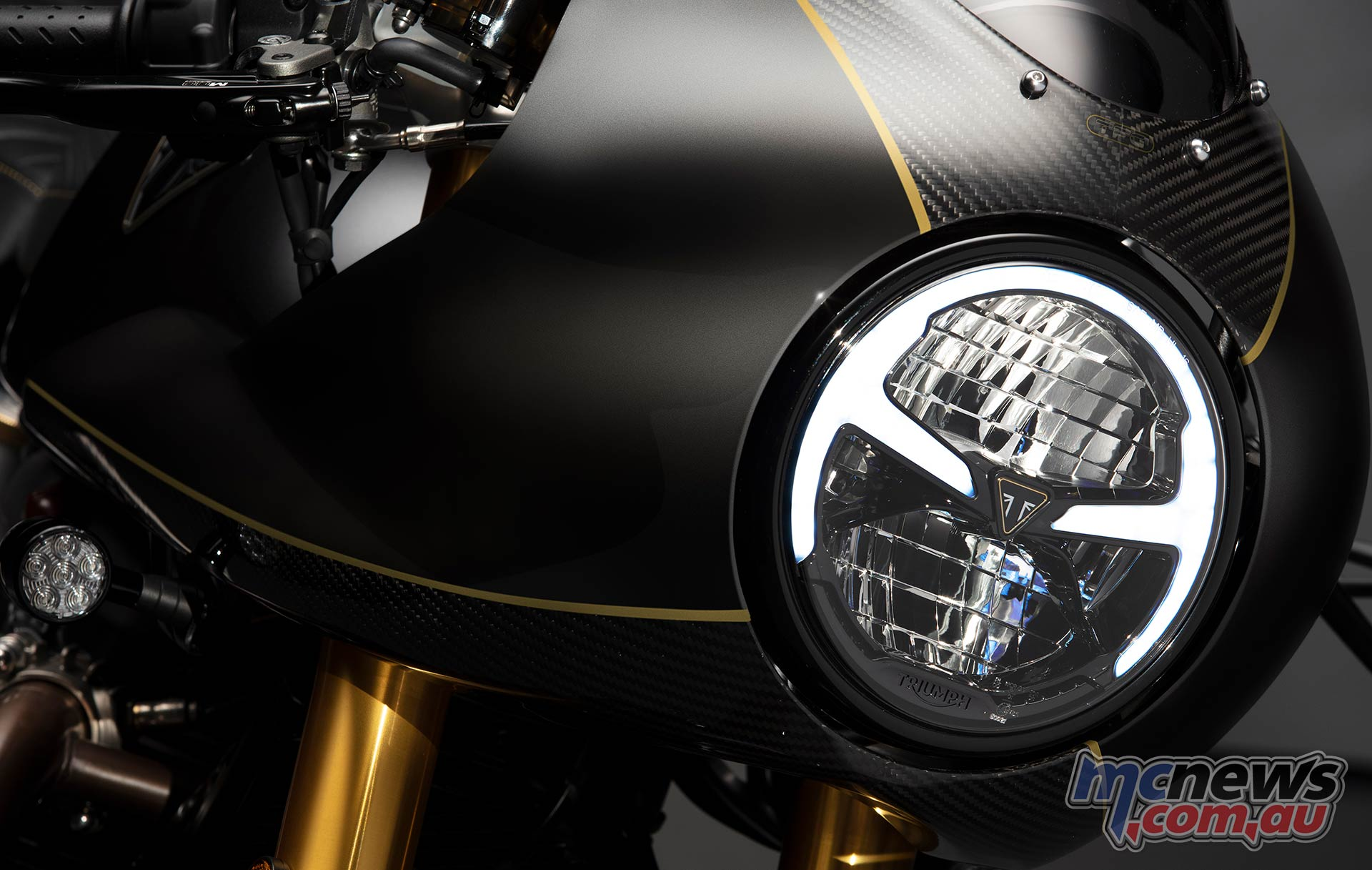 Triumph ThruxtonTFC Lights