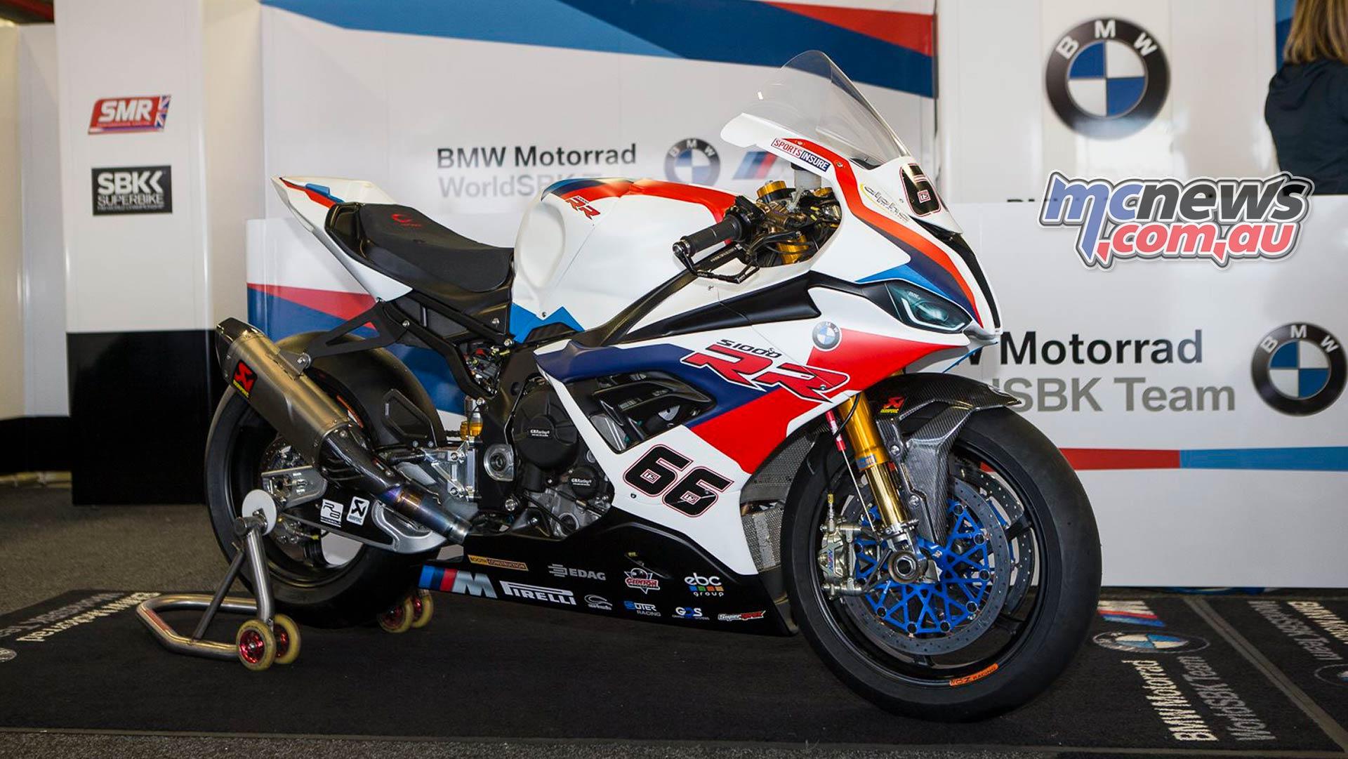 Bmw Motorrad Worldsbk Team Show Off Their New Livery Mcnews Com Au