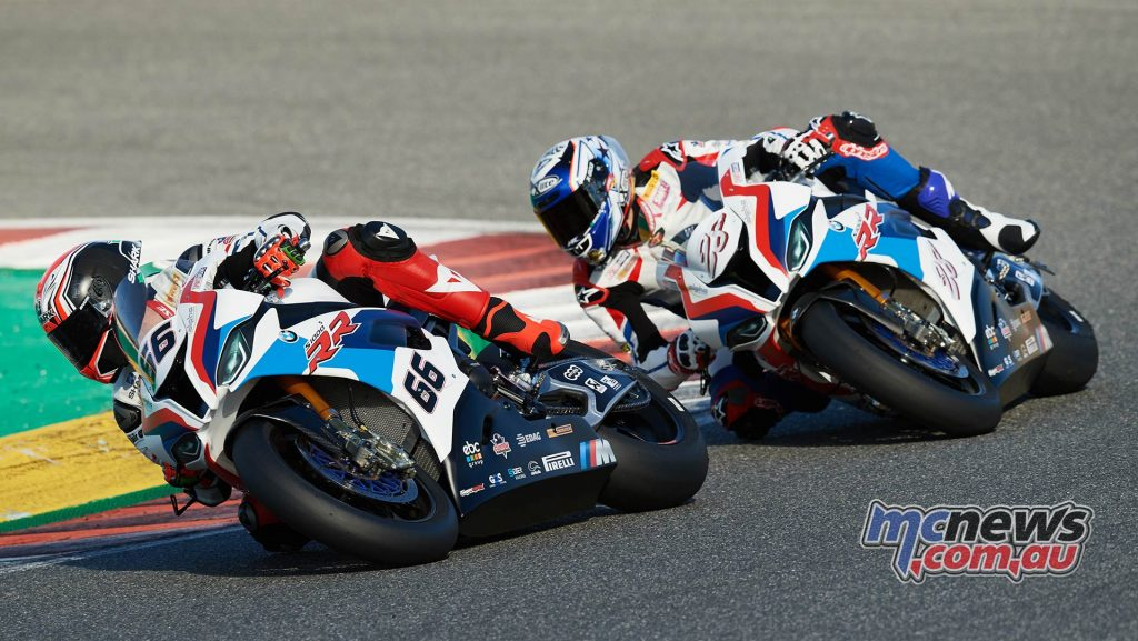 WSBK Team BMW Tom Sykes Reiterberger