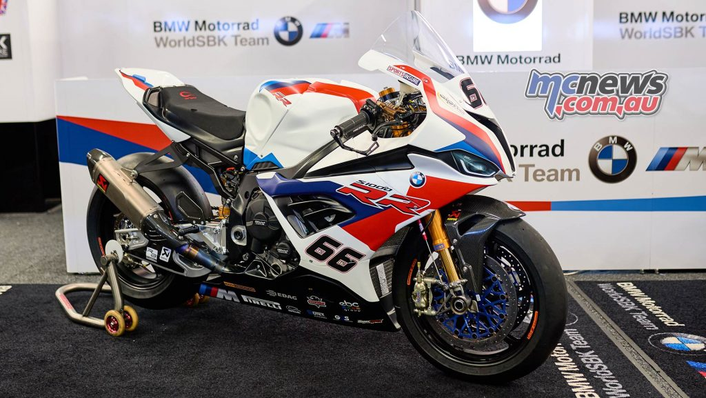 WSBK Team BMW Tom Sykes SRR