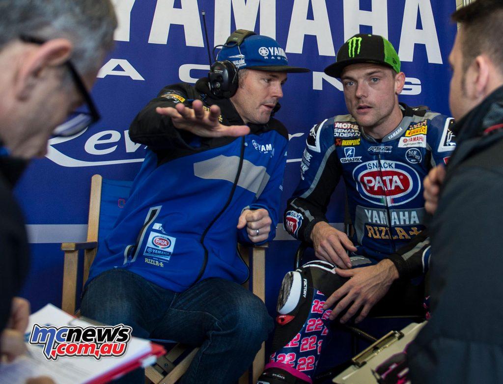WSBK Test Jerez Day Alex Lowes Andrew Pitt