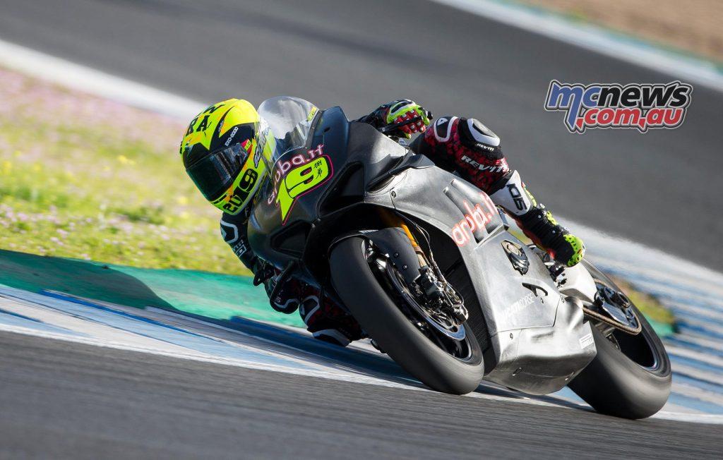 WSBK Test Jerez Day Bautista
