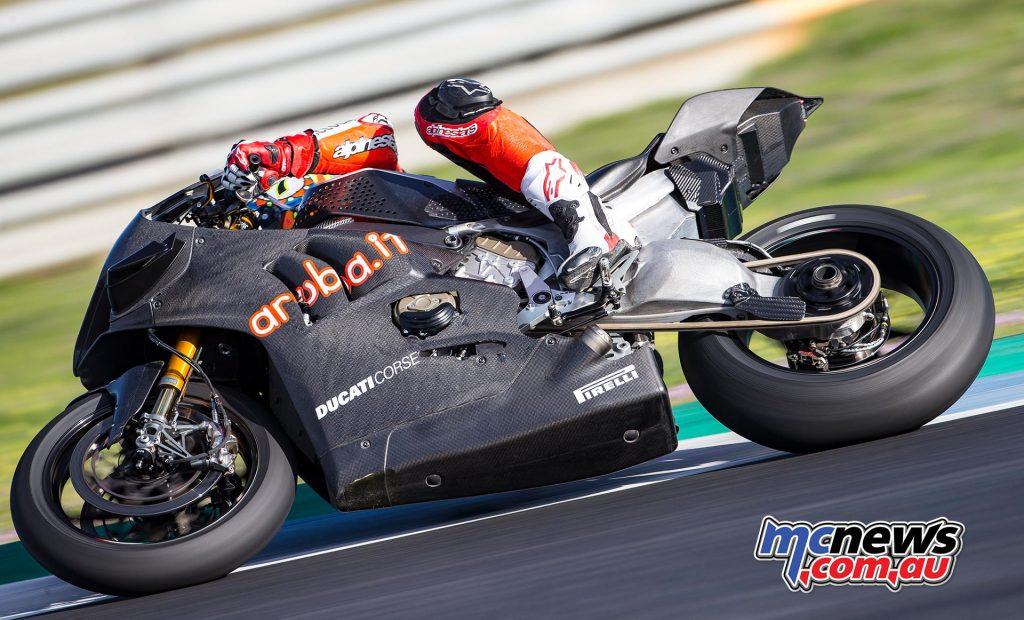WSBK Test Jerez Day Chaz Davies
