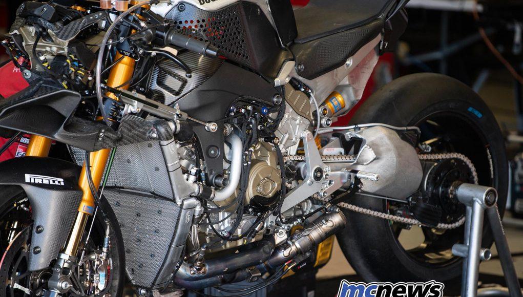 WSBK Test Jerez Day Ducati VR